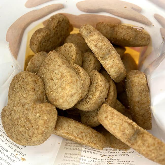Birkengold Dinkel Vollkorn Kekse ca. 27 Stück. Proteinreich / pflanzliche Proteinquelle 7,9 g / 100 g Eiweiß – Xylit hat rund 40% weniger Kalorien als Zucker & beeinflusst den Blutzuckerspiegel kaum