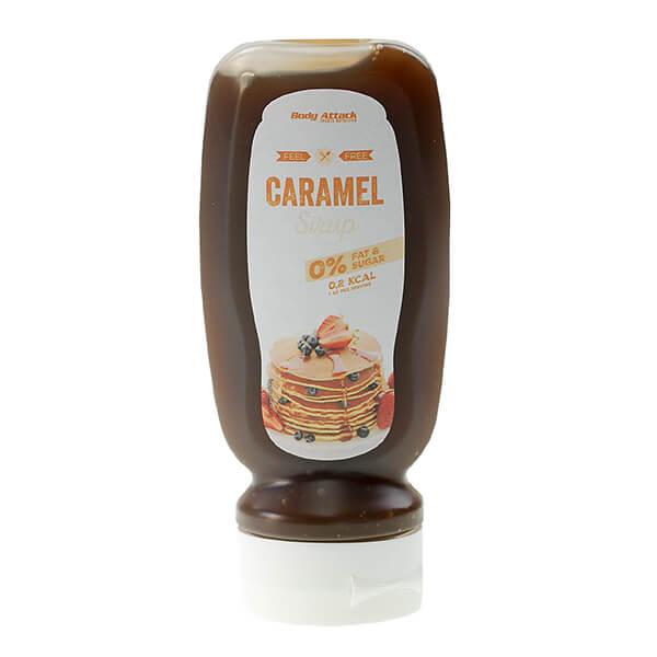Body Attack zuckerfreie Dessertsauce Sirup Karamell 320 ml kaufen. Karamel Low Carb Sauce online kaufen. Ohne Zucker Zusatz. Body Attack Karamelsauce kaufen