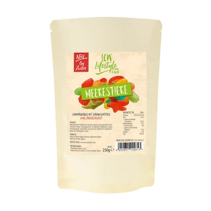 LCW Fruchtgummi Meerestiere ohne Zuckerzusatz 250 g, gesüßt mit Maltit. Leckere Low Carb Fruchtgummi Meerestiere von LCW. Zuckerfrei & fettarme Süßigkeit!