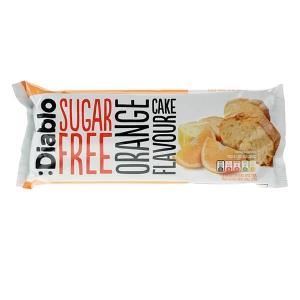 Diablo zuckerfreier Kuchen fertiggebacken ready-to-eat Orange 200 g kaufen. Low Carb Kuchen von Diablo ohne Zucker kaufen. Fertiger Kuchen Diablo Orange!