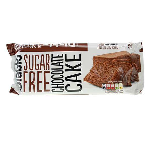 Diablo zuckerfreier Kuchen fertiggebacken ready-to-eat Schokolade kaufen. Low Carb Kuchen von Diablo ohne Zucker kaufen. Fertiger Kuchen Diablo Schokolade!
