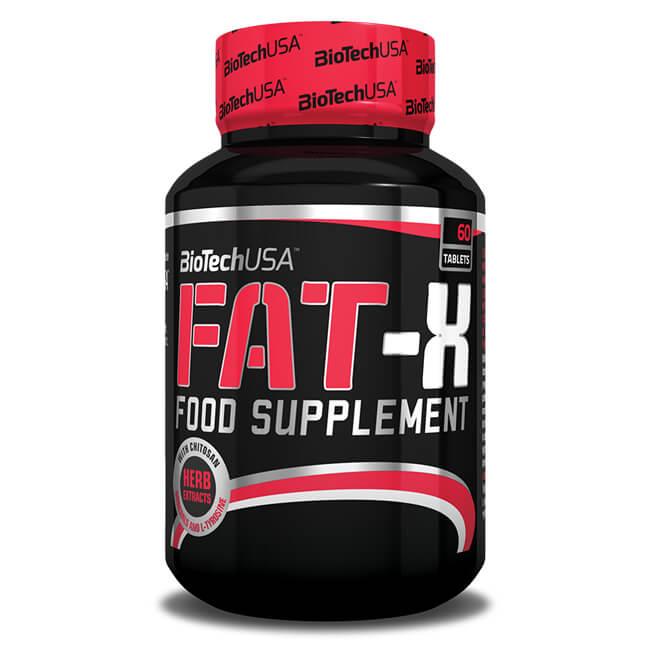 BioTechUSA Fat-X Fatburner Tabletten 60 Stück / Fatburner online kaufen! BioTech USA Fatburner online bestellen. Ideal zum Abnehmen / Fettverbrennung!