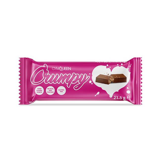 GymQueen Crumpy Schokolade Riegel online kaufen. GymQueen Riegel, GymQueen Crumpy kaufen