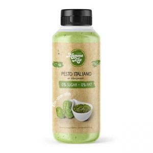 GymQueen Mamma Mia Zero Sauce Pesto Italiano 265 ml