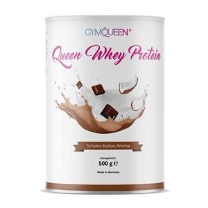GymQueen Queen Whey Schokolade-Kokos 500 g Dose. Queen Whey online kaufen. Spezielles Eiweißpulver für Frauen zum Abnehmen, Diäten. Schoko Kokos Whey kaufen