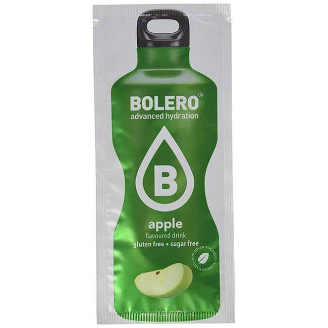 Bolero Instant Apfel Getränkepulver. Bolero Instant im 9 g Beutel kaufen! Bolero Instant Erfrischungs Getränkepulver Beutel für fertiges Getränk