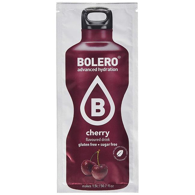 Bolero Instant Kirsche Getränkepulver. Bolero Instant im 9 g Beutel kaufen! Bolero Instant Erfrischungs Getränkepulver Beutel für fertiges Getränk
