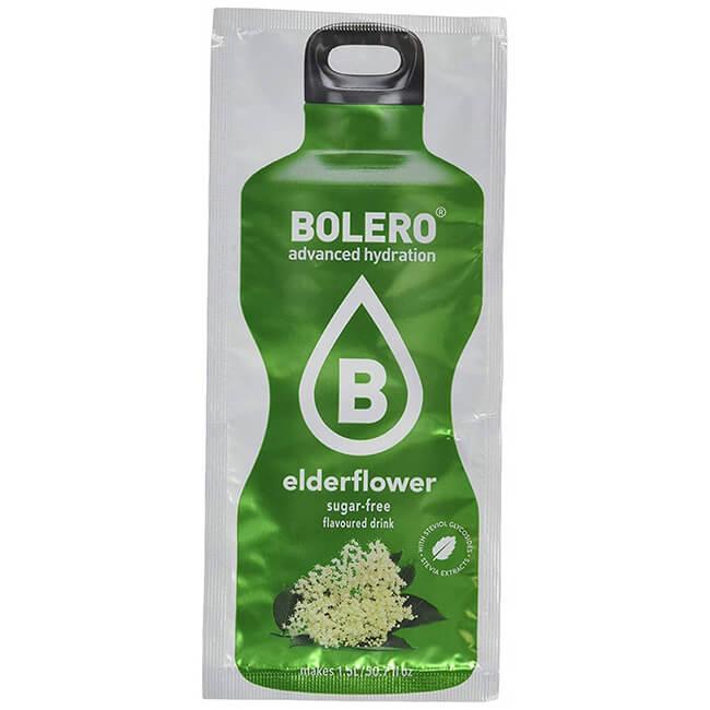 Bolero Instant Holunderblüte Getränkepulver. Bolero Instant im 9 g Beutel kaufen! Bolero Instant Erfrischungs Getränkepulver Beutel für fertiges Getränk