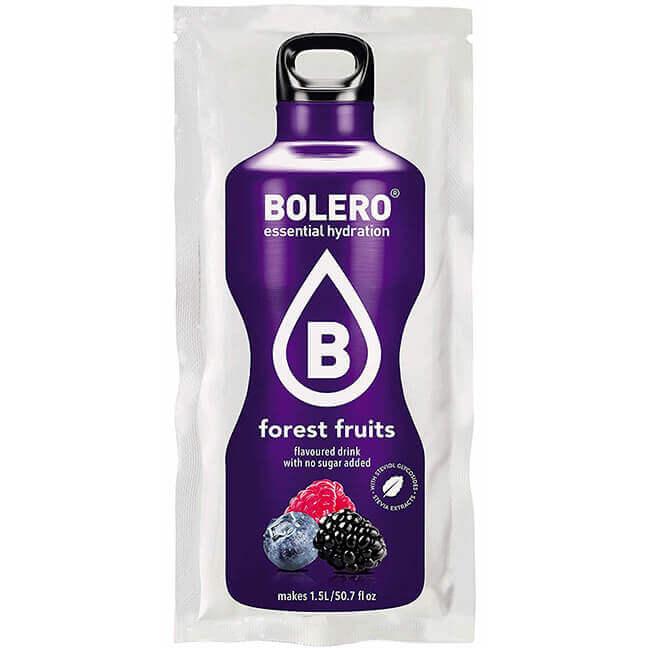 Bolero Instant Waldfrüchte Getränkepulver. Bolero Instant im 9 g Beutel kaufen! Bolero Instant Erfrischungs Getränkepulver Beutel für fertiges Getränk