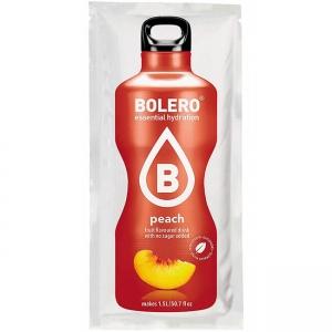 Bolero Instant Banane Pfirsich Getränkepulver. Bolero Instant im 9 g Beutel kaufen! Bolero Instant Erfrischungs Getränkepulver Beutel für fertiges Getränk