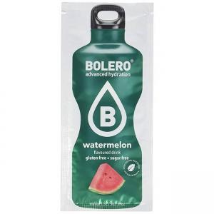 Bolero Instant Wassermelone Getränkepulver. Bolero Instant im 9 g Beutel kaufen! Bolero Instant Erfrischungs Getränkepulver Beutel für fertiges Getränk