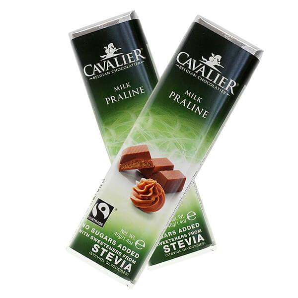 Cavalier Stevia Schokolade kaufen und online bestellen, ohne Zuckerzusatz