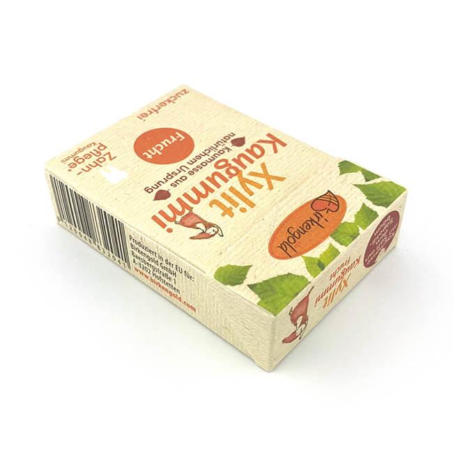 Birkengold Xylit Kaugummi Frucht nur 2,56 kcal pro Gum!