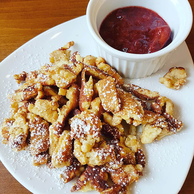 Low Carb Kaiserschmarrn Soulfood LowCarberia