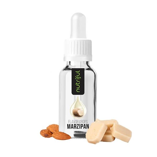 Nutriful Flavor Drops Marzipan kaufen. Nutriful Flavor Drops 30 ml ist ein Kalorien freies Geschmackskonzentrat. Nutriful Flavor Drops Marzipan kaufen
