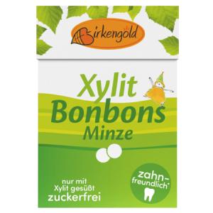 Xylit Bonbons mit Pfefferminz Geschmack. Xylit Bonbons kaufen