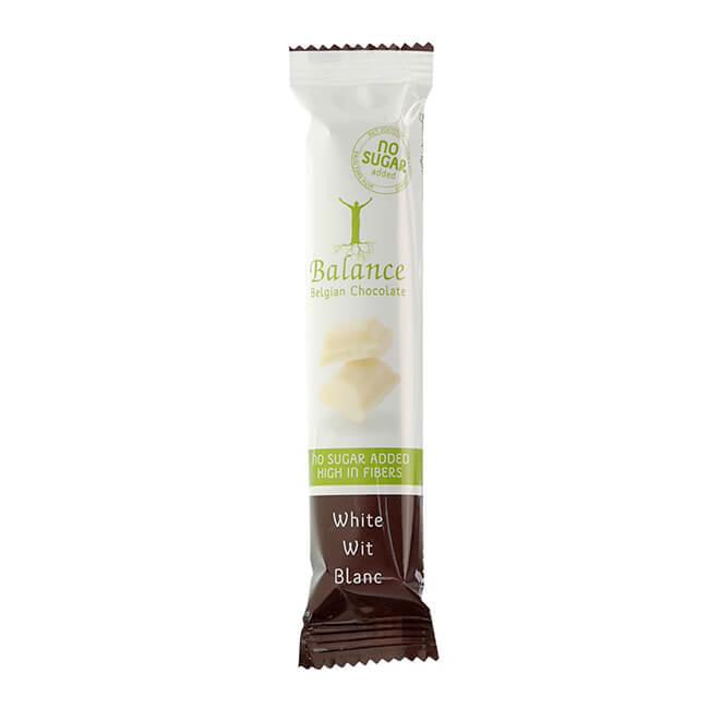 Balance Schokoriegel White Weiss ohne Zuckerzusatz 35 g. Balance Schokoriegel ohne Zuckerzusatz online kaufen. Balance Riegel weiße Schokolade kaufen