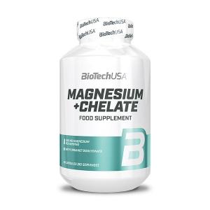 BioTech USA Magnesium + Chelate Nahrungsergänzung 60 Kapseln kaufen. BioTech USA Magnesium online kaufen. Magnesium 250 mg Kapsel kaufen