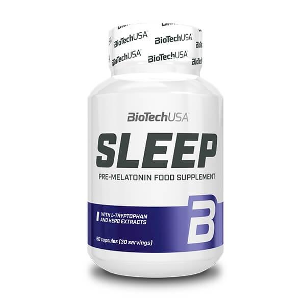 BioTech USA Sleep Melatonin-Booster Nahrungsergänzung 60 Kapseln. Melatonin online kaufen. BioTech USA Melatonin-Booster online kaufen!