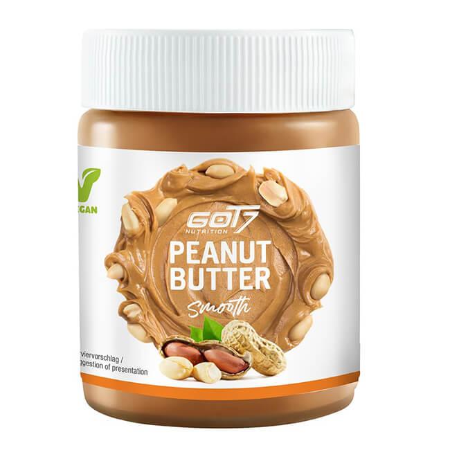 GOT7 Nutrition Peanut Butter smooth zuckerfreie Erdnussbutter 500 g online kaufen. GOT7 Nutrition Erdnussbutter kaufen. Peanut Butter smooth Low Carb
