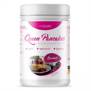 GymQueen Queen Pancakes Weiße Schokolade-Mandel-Kokos 500 g Dose. Die Protein Pancakes / Protein Pfannkuchen im Weisse Schoko Geschmack von GymQueen kaufen!