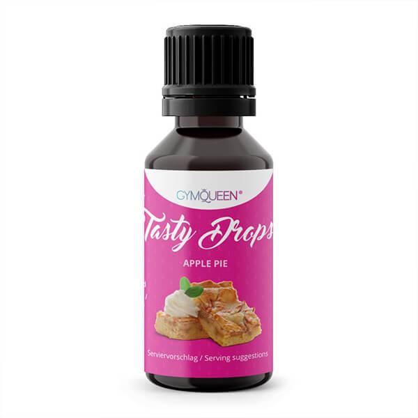 GymQueen Tasty Drops Apfelkuchen 30 ml kaufen. GymQueen Flavour Drops kaufen. OHNE Kalorien, Zucker, Fett, KH, uvm. Flavour Drops online kaufen!