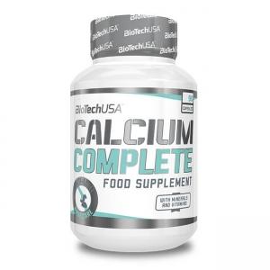 BioTech USA Calcium Complete Nahrungsergänzung 90 Kapseln. Zum Schutz von Knochen und Zähnen! Mit Phosphor, Vitamin D und Vitamin K uvm. kaufen!