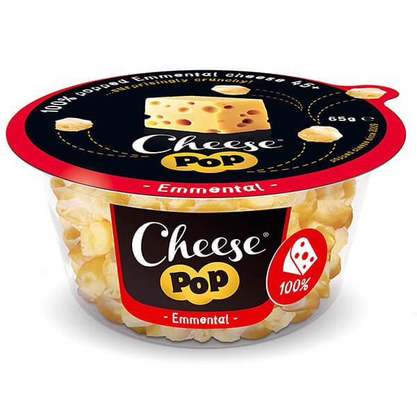 Cheesepop Emmentaler Käsesnack 65 g kaufen. Enthält 0 g Kohlenhydrate. Lecker, einzigartig und würzig im Geschmack. Hauptzutat Käse - sonst nichts!