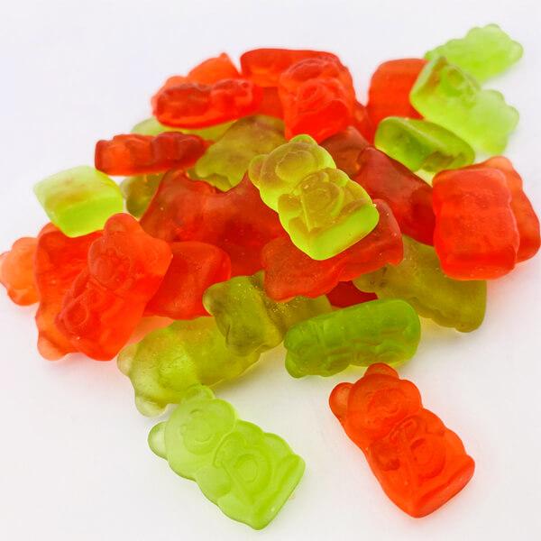 De Bron Jelly Bears Gummibärchen ohne Zucker kaufen. Zuckerfreie Gummibären, Gummibärchen online bestellen!