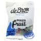 De Bron Pokerfruit 90 g. Herzhafte Low Carb Süßigkeiten mit 30% weniger Kalorien als herkömmliche vergleichbare Süßigkeiten.