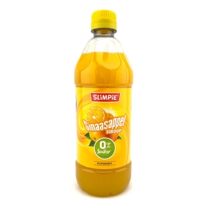 Slimpie zuckerfreier Limonaden Sirup Orange 580 ml kaufen. Slimpie Sirup kaufen für 7 Liter Limonade! Zuckerfreier Limonaden Sirup. Zuckerfrei!