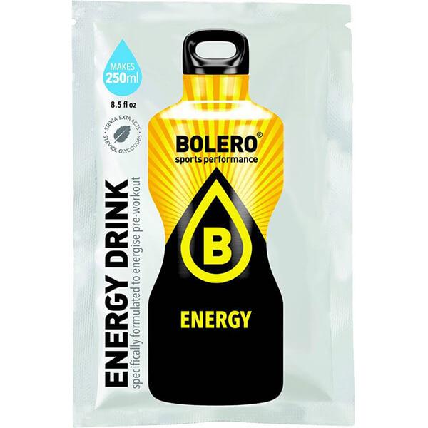 Bolero Instant Erfrischungsgetränkepulver 7 g Beutel ENERGY mit erhöhtem Koffeingehalt für 250 ml fertiges Getränk! Bolero Instant Getränkepulver kaufen.
