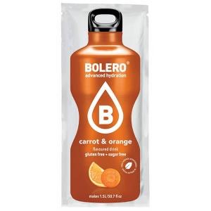 Bolero Instant Erfrischungsgetränkepulver 9 g Beutel CARROT & ORANGE Karotte & Orange! Bolero Instant Getränkepulver Beutel für fertiges Getränk.