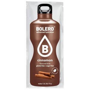 Bolero Instant Erfrischungsgetränkepulver 9 g Beutel CINNAMON Zimt für 1,5 l fertiges Getränk! Bolero Instant Getränkepulver Beutel für fertiges Getränk.