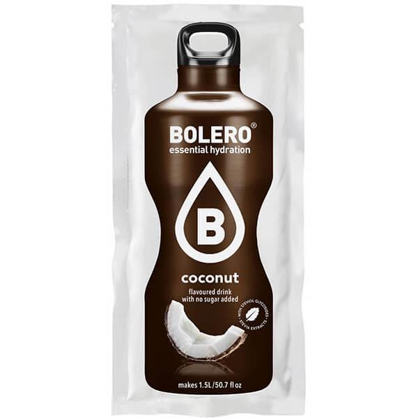 Bolero Instant Erfrischungsgetränkepulver 9 g Beutel COCONUT Kokos für 1,5 l fertiges Getränk! Bolero Instant Getränkepulver Beutel für fertiges Getränk.