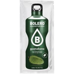 Bolero Instant Erfrischungsgetränkepulver 9 g Beutel GUANABANA Stachelannone! Bolero Instant Getränkepulver Beutel für fertiges Getränk.