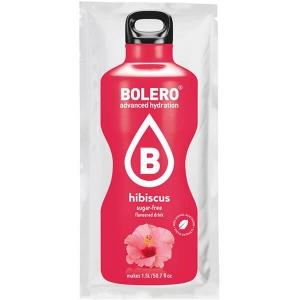 Bolero Instant Erfrischungsgetränkepulver 9 g Beutel HIBISCUS Eibisch für 1,5 l fertiges Getränk! Bolero Instant Getränkepulver Beutel für fertiges Getränk.