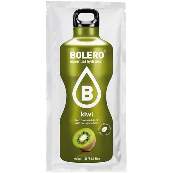 Bolero Instant Erfrischungsgetränkepulver 9 g Beutel KIWI für 1,5 l fertiges Getränk! Bolero Instant Getränkepulver Beutel für fertiges Getränk.