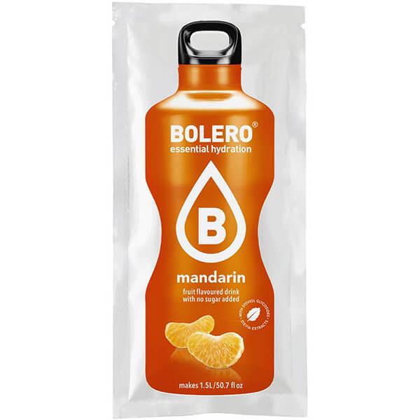 Bolero Instant Erfrischungsgetränkepulver 9 g Beutel MANDARIN für 1,5 l fertiges Getränk! Bolero Instant Getränkepulver Beutel für fertiges Getränk.