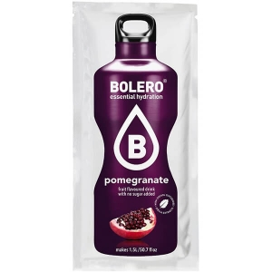 Bolero Instant Erfrischungsgetränkepulver 9 g Beutel POMEGRANATE für 1,5 l fertiges Getränk! Bolero Instant Getränkepulver Beutel für fertiges Getränk.