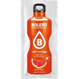 Bolero Instant Erfrischungsgetränkepulver 9 g Beutel RED ORANGE für 1,5 l fertiges Getränk! Bolero Instant Getränkepulver Beutel für fertiges Getränk.