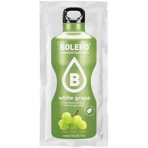 Bolero Instant Erfrischungsgetränkepulver 9 g Beutel WHITE GRAPE für 1,5 l fertiges Getränk! Bolero Instant Getränkepulver Beutel für fertiges Getränk.
