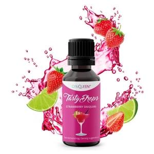 GymQueen Tasty Drops Strawberry Daiquiri 30 ml kaufen. GymQueen Flavour Drops kaufen. OHNE Kalorien, Zucker, Fett, KH, uvm. Flavour Drops online kaufen!