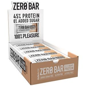 Biotech USA Zero Bar Cappuccino Proteinriegel 20 x 50 g