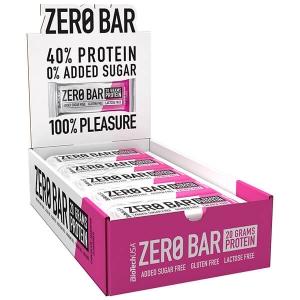 Biotech USA Zero Bar Schokolade Marzipan Proteinriegel 20 x 50 g