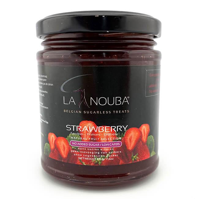 La Nouba Natural Fruit Selection Premium Fruchtaufstrich ohne Zuckerzusatz 215 g Erdbeer. Erlesene Früchte verarbeitet in einem köstlichen Fruchtaufstrich.