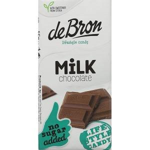 De Bron Low Carb Schokolade Vollmilch ohne Zuckerzusatz 85 g Tafel kaufen. Köstliche Vollmilchschokolade ohne Zuckerzusatz. Herzhafte Low Carb Schokolade.