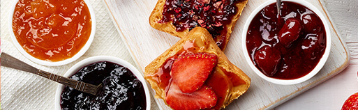 Low Carb Marmelade kaufen, ohne Zucker Zusatz. Lowcarb Marmelade, fruchtig und mit Xylit, Erythrit gesüßt