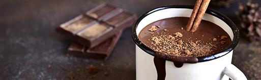 Süßigkeiten ohne Zucker Trinkschokolade. Hot Chocolate Pulver ohne Zucker kaufen