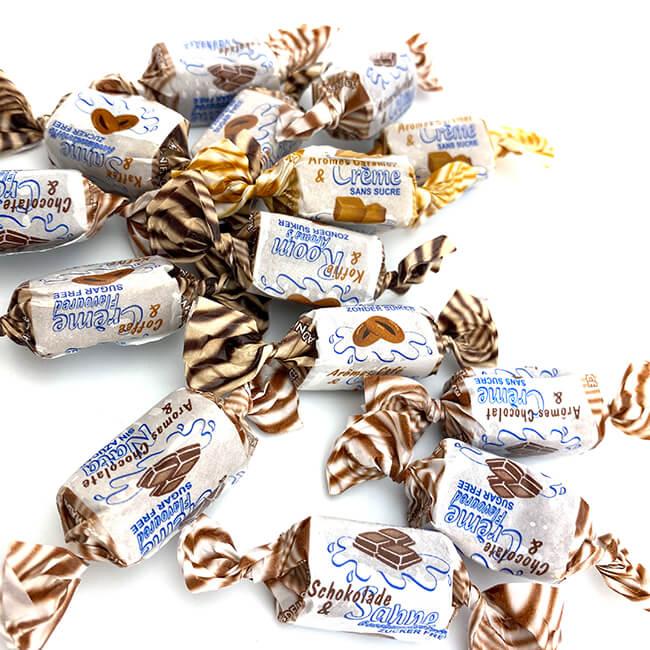 De Bron Caribbean Mix Sahne Toffees ohne Zucker. De Bron zuckerfreie Karibische Sahne Toffees 90 g, Sahnebonbons kaufen, Sahne Bonbons kaufen im Shop. Online Sahne Bonbons kaufen